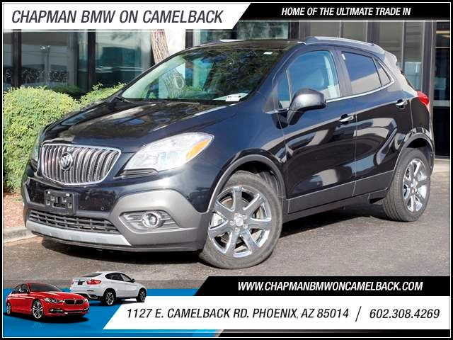 2013 Buick Encore Premium 21505 miles 1127 E Camelback BUY WITH CONFIDENCE Chapman BMW is