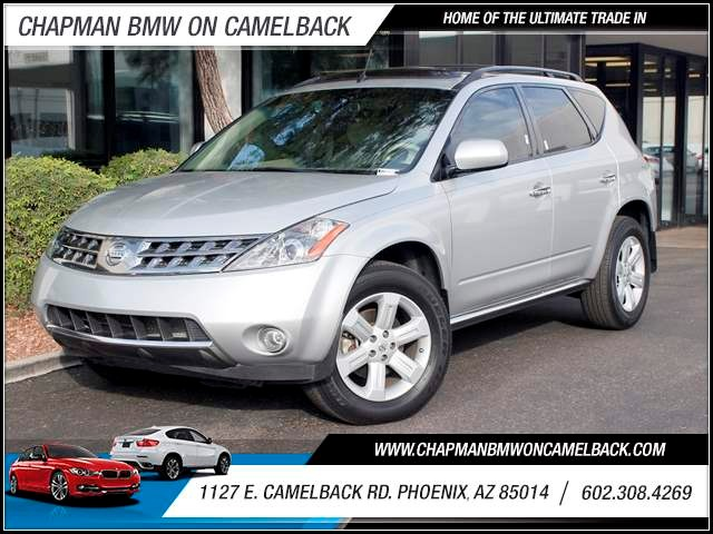 2007 Nissan Murano SL 58656 miles 1127 E Camelback BUY WITH CONFIDENCE Chapman BMW is loc