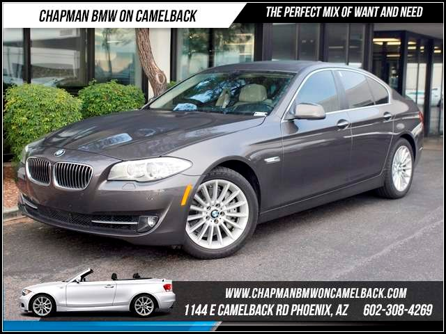 2013 BMW 5-Series 535i 31782 miles 1144 E CamelbackHappier Holiday Sales Event on Now Chapman