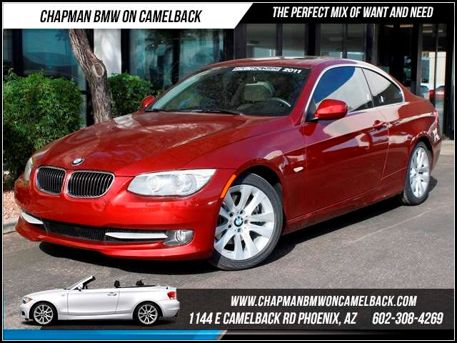 2011 BMW 3-Series Cpe 328i 33901 miles 1144 E CamelbackHappier Holiday Sales Event on Now Chap