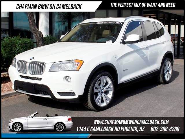 2011 BMW X3 xDrive35i ConvTech Pkg Heads Up 37305 miles 1144 E CamelbackCPO Elite Sales Event