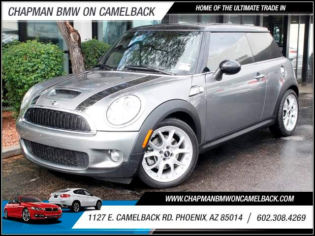 2009 MINI Cooper S 43762 miles 1127 E Camelback BUY WITH CONFIDENCE Chapman BMW is locate
