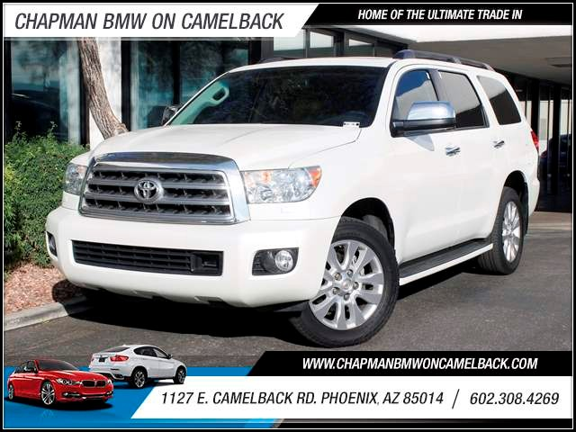 2010 Toyota Sequoia Platinum 57263 miles 1127 E Camelback BUY WITH CONFIDENCE Chapman BMW