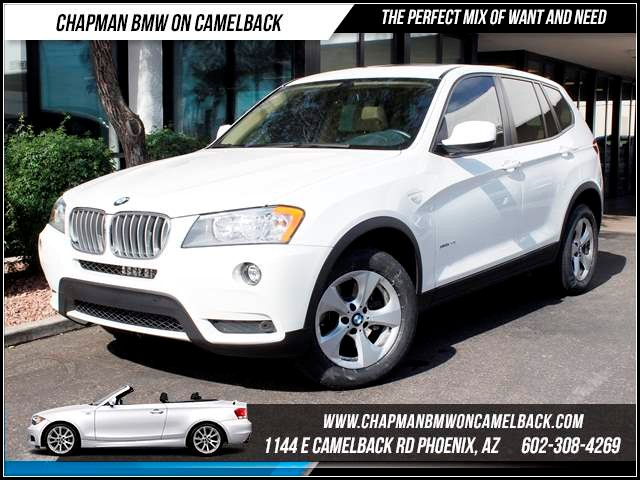2011 BMW X3 xDrive28i 26785 miles 1144 E CamelbackCPO Elite Sales Event on now at Chapman BMW