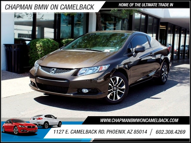 2013 Honda Civic EX-L 21258 miles 602 385-2286 1127 E Camelback HOME OF THE ULTIMATE TRADE I
