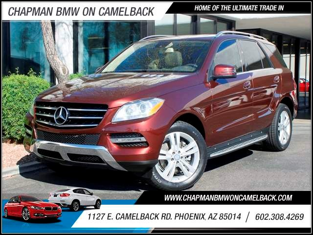 2013 Mercedes M-Class ML350 37452 miles 602 385-2286 1127 E Camelback HOME OF THE ULTIMATE T