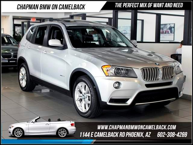 2011 BMW X3 xDrive35i PremCold Weather Pkgs 37396 miles Chapman BMW on Camelback CPO Elite Sales