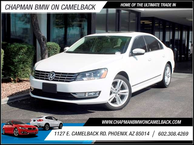 2014 Volkswagen Passat TDI SE 35874 miles 602 308-4269 1127 Camelback TAX SEASON IS HERE Bu