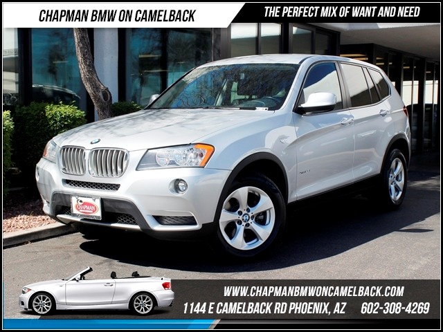 2012 BMW X3 xDrive28i 40827 miles Chapman BMW on Camelback CPO Elite Sales Event Take advantage