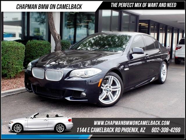 2012 BMW 5-Series 550i NAV Drivers asstMsptPrem 26133 miles 1144 E CamelbackCPO Spring Sale