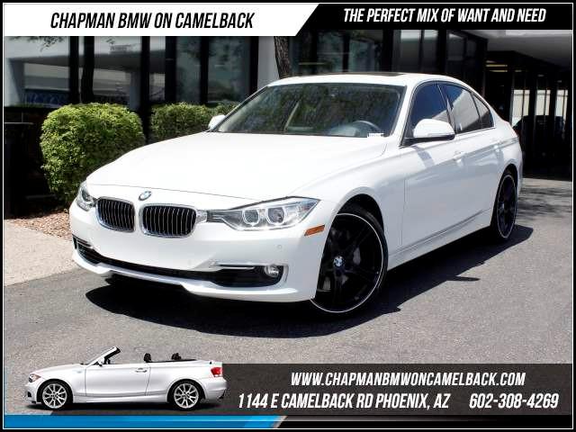 2013 BMW 3-Series Sdn 335i Lux Line PremTechCold Pkg 29105 miles 1144 E CamelbackCPO Spring