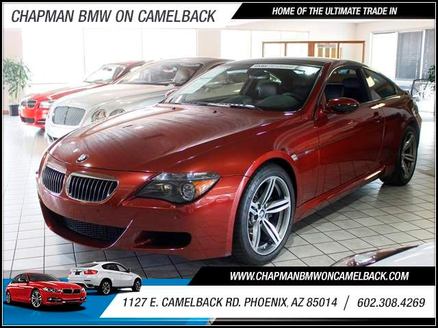 2007 BMW M6 61510 miles 602 385-2286 1127 Camelback TAX SEASON IS HERE Buy the car or truck