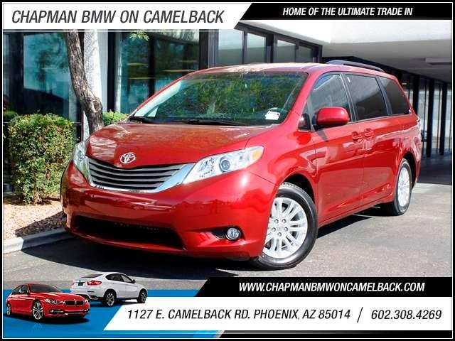 2012 Toyota Sienna XLE 7-Passenger Auto Access Seat 27325 miles 602 385-2286 1127 E Camelback