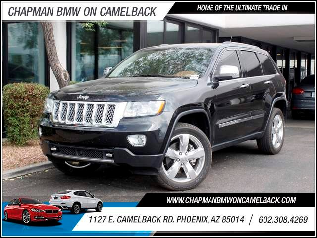 2012 Jeep Grand Cherokee Overland Summit 74045 miles 602 385-2286 1127 E Camelback HOME OF T