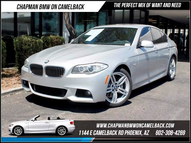 2012 BMW 5-Series 535i NAV PremTechMspt Pkg 55869 miles Memorial Day Sales Event at Chapman BMW