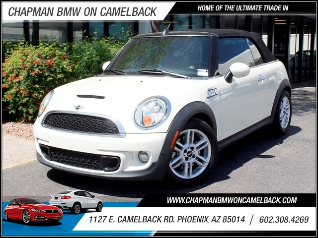 2012 MINI Cooper S Convertible 45002 miles 602 385-2286 1127 E Camelback HOME OF THE ULTIMAT