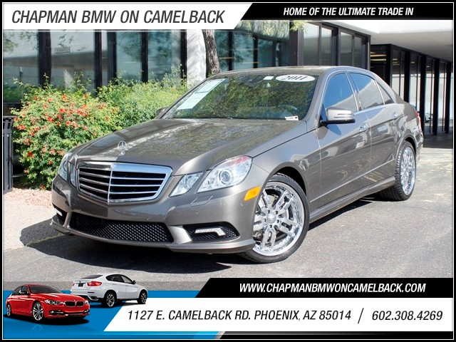 2011 Mercedes E-Class E350 Sport 52812 miles 602 385-2286 1127 E Camelback HOME OF THE ULTIM