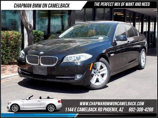 2012 BMW 5-Series 528i NAV PremTech Pkgs 25362 miles 1144 E CamelbackCPO Spring Sales Event