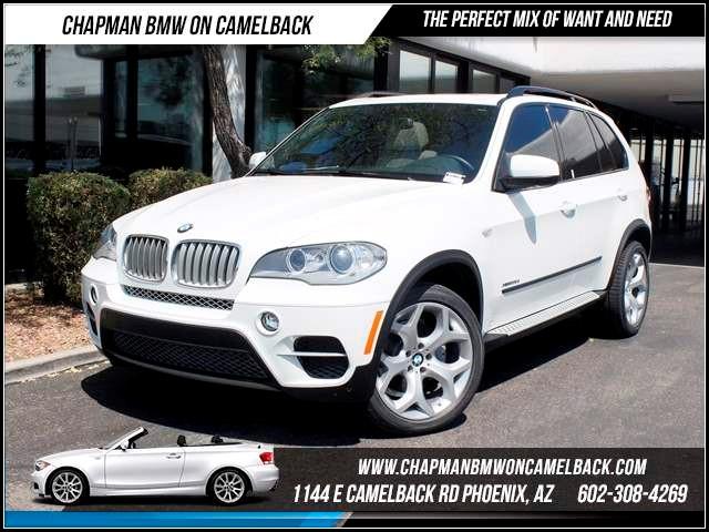 2012 BMW X5 xDrive35d PremSportSAPS Pkg 30421 miles 1144 E CamelbackCPO Spring Sales Event
