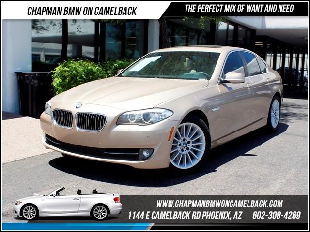 2011 BMW 5-Series 535i NAV PremPrem2Conv Pkg 35252 miles 1144 E CamelbackCPO Spring Sales E
