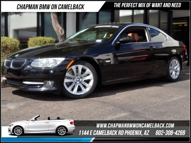 2012 BMW 3-Series Cpe 328i Prem Pkg 38585 miles 1144 E Camelback RdChapman BMW on Camelbacks Ce