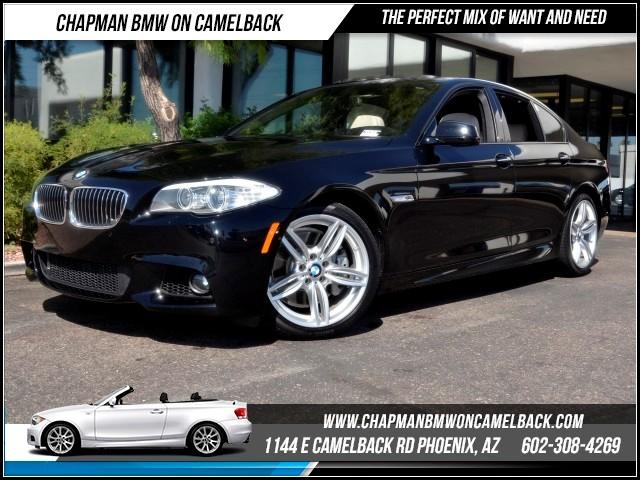 2013 BMW 5-Series 535i PremDriver AssistNavMspt 13256 miles 1144 E Camelback Rd Brand Span
