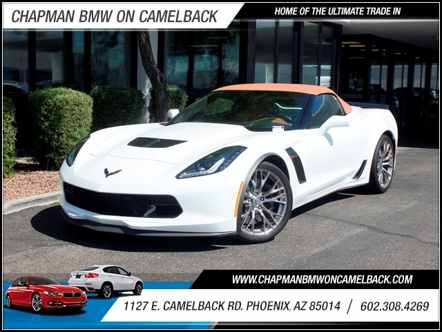 2015 Chevrolet Corvette Stingray Z06 3888 miles 602 308-4269 1127 Camelback TAX SEASON IS HER