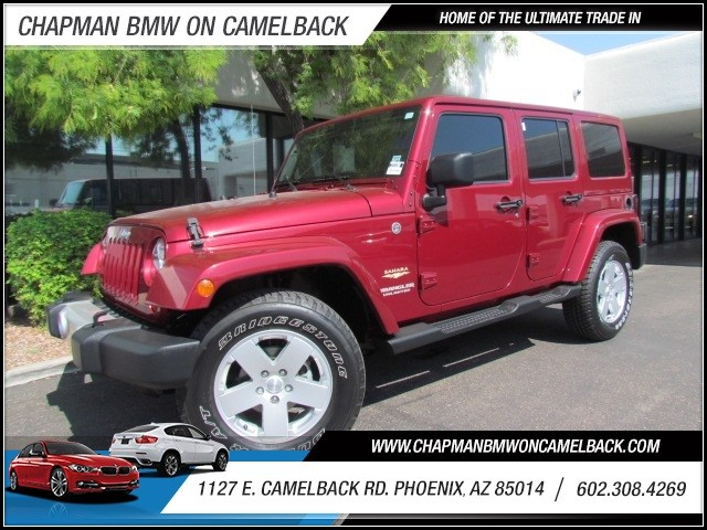 2012 Jeep Wrangler Unlimited Sahara 16645 miles 602 385-2286 1127 E Camelback HOME OF THE UL
