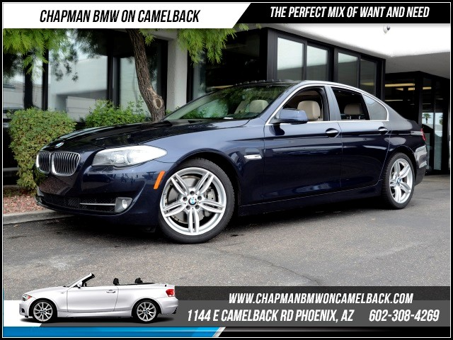 2011 BMW 5-Series 535i 51051 miles 1127 E Camelback BUY WITH CONFIDENCE Chapman BMW is l