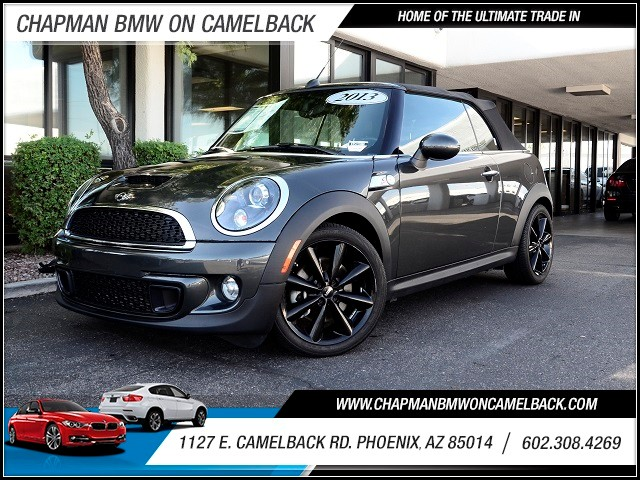 2013 MINI Convertible Cooper S 17471 miles Wireless data link Bluetooth Hands-free communication