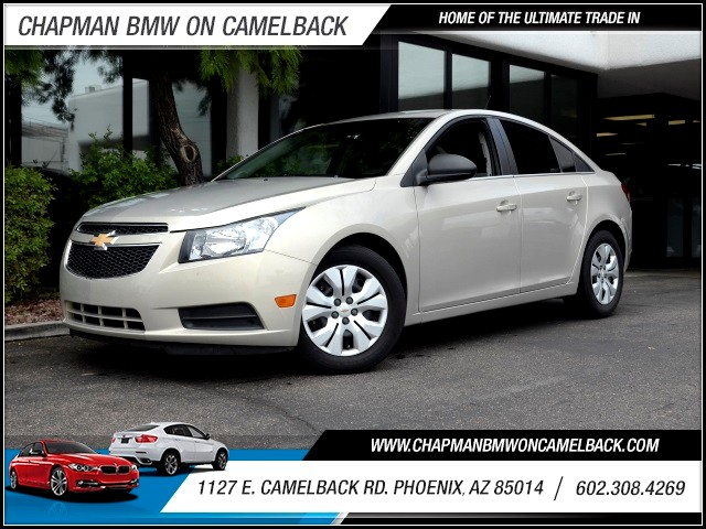 2012 Chevrolet Cruze LS 48673 miles 602 385-2286 1127 E Camelback HOME OF THE ULTIMATE TRADE