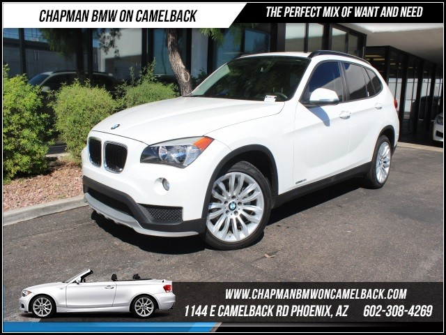 2015 BMW X1 sDrive28i 9496 miles Panoramic moonroof 18 wheels w all-season tires Satellite co
