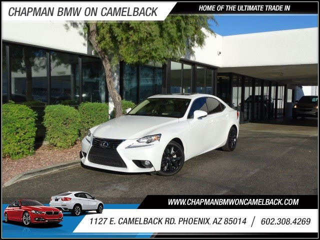 2014 Lexus IS 250 19003 miles Phone pre-wired for phone Phone voice activated Wireless data lin