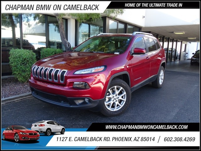 2015 Jeep Cherokee Latitude 4560 miles 602 385-2286 1127 E Camelback HOME OF THE ULTIMATE TR
