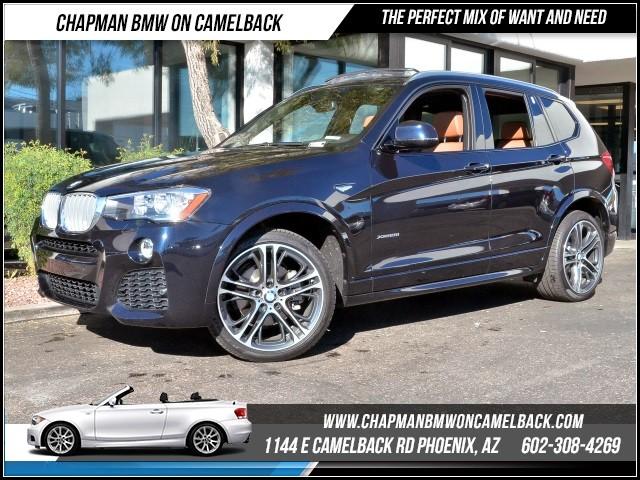 2016 BMW X3 xDrive28i PremMsptNavTechDri 8535 miles 1144 E Camelback RdChapman BMW on Camel