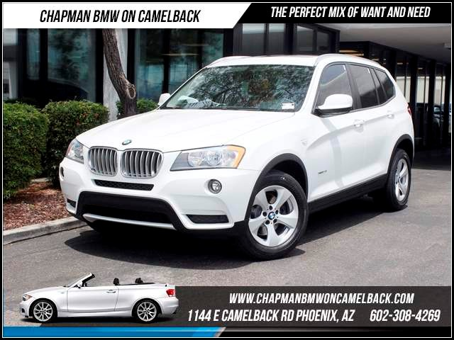 2011 BMW X3 xDrive28i PremTech Pkg 35016 miles Memorial Day Sales Event at Chapman BMW on Camelb