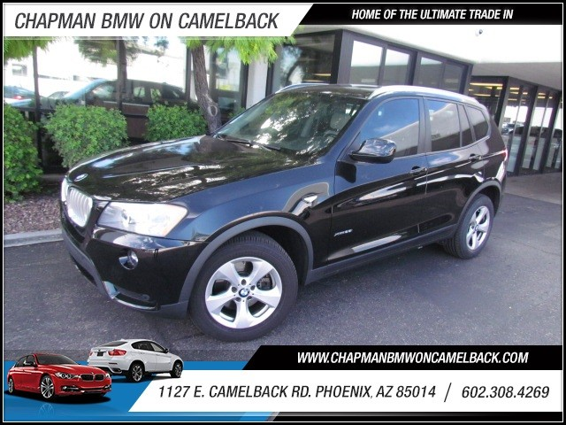 2011 BMW X3 xDrive28i 52296 miles 1127 E Camelback BUY WITH CONFIDENCE Chapman BMW is lo