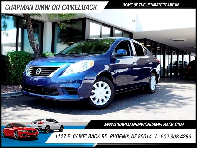 2014 Nissan Versa 16 SV 29721 miles 1127 E Camelback BUY WITH CONFIDENCE Chapman BMW is