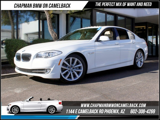 2012 BMW 5-Series 535i PremSportNavTech Pkg 38141 miles 1144 E Camelback RdChapman BMW on Ca