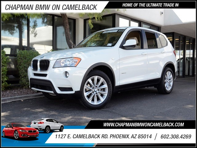 2013 BMW X3 xDrive28i 58026 miles 1127 E Camelback BUY WITH CONFIDENCE Chapman BMW is lo