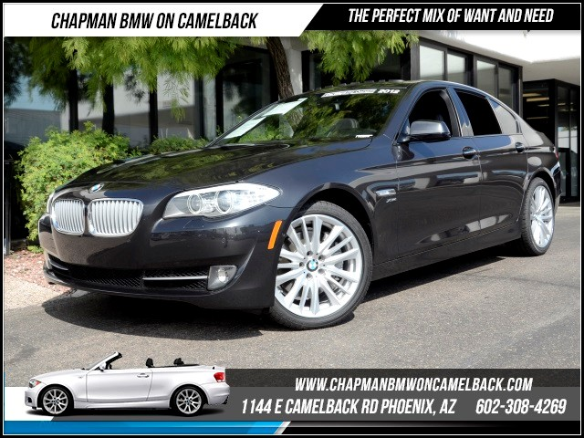2012 BMW 5-Series 550i xDrive 44698 miles 1127 E Camelback BUY WITH CONFIDENCE Chapman B