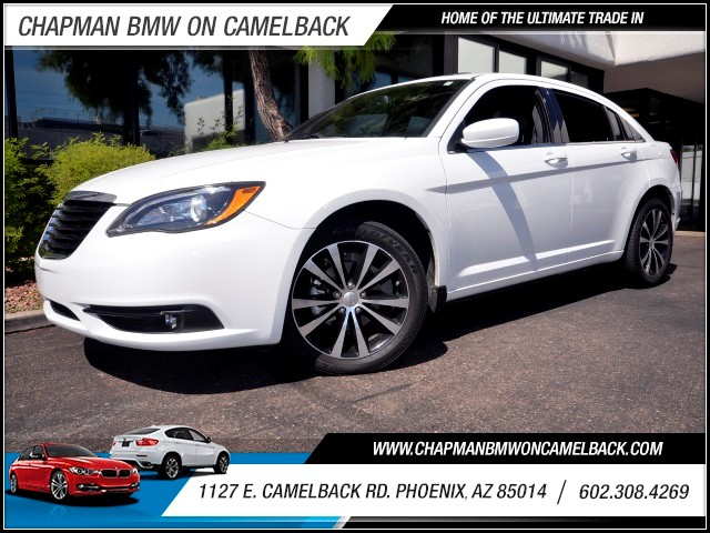 2013 Chrysler 200 Limited 34417 miles 1127 E Camelback BUY WITH CONFIDENCE Chapman BMW i