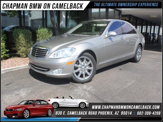 2007 Mercedes S-Class S550 21650 miles 1127 E Camelback BUY WITH CONFIDENCE Chapman BMW