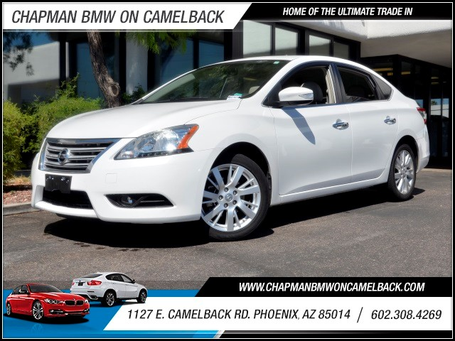 2013 Nissan Sentra SL 35760 miles 1127 E Camelback BUY WITH CONFIDENCE Chapman BMW is lo