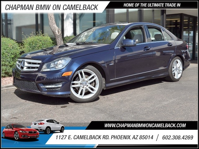 2012 Mercedes C-Class C250 Sport 42945 miles 602 385-2286 1127 E Camelback HOME OF THE ULTIM