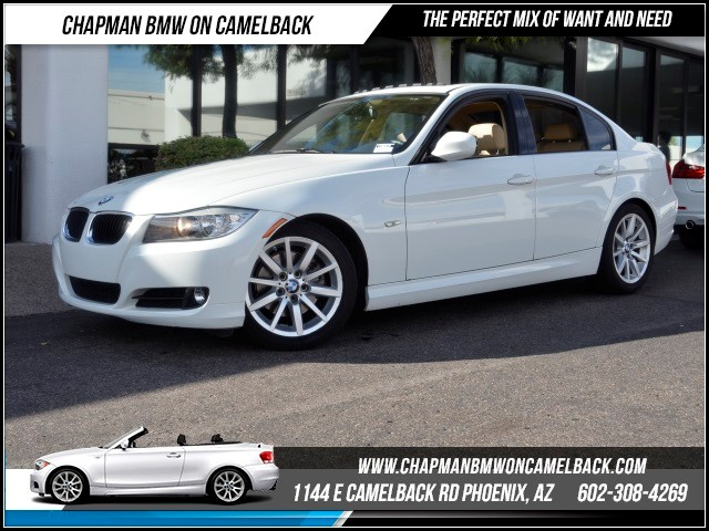 2011 BMW 3-Series Sdn 328i PremSport Pkg 40688 miles 1144 E Camelback Rd October CPO Sales Eve
