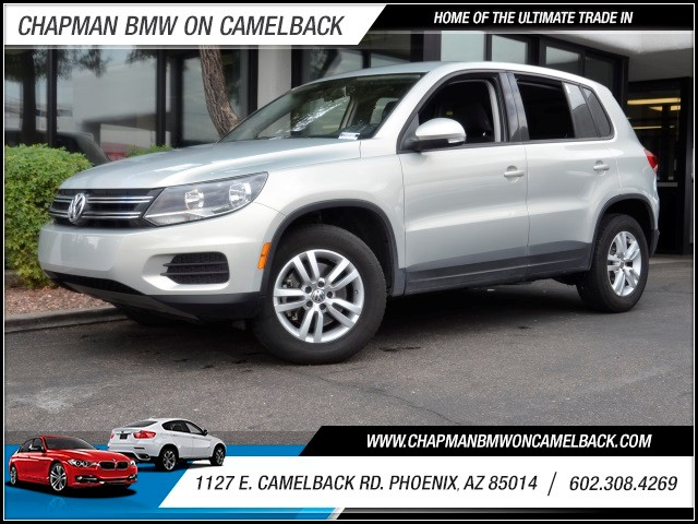 2013 Volkswagen Tiguan S 40461 miles Wireless data link Bluetooth Cruise control Anti-theft sys