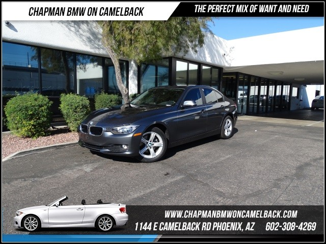 2015 BMW 3-Series Sdn 320i 9813 miles 1144 E Camelback RdChapman BMW on Camelbacks Certified Pr