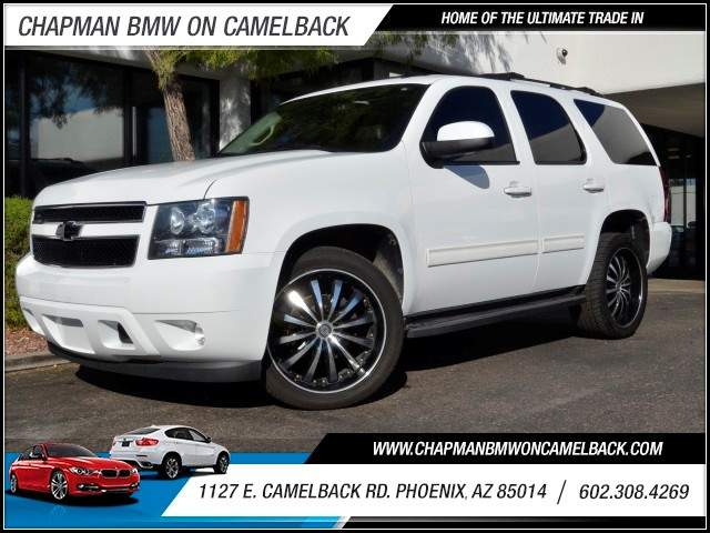 2011 Chevrolet Tahoe LT 50062 miles 602 385-2286 1127 E Camelback HOME OF THE ULTIMATE TRADE