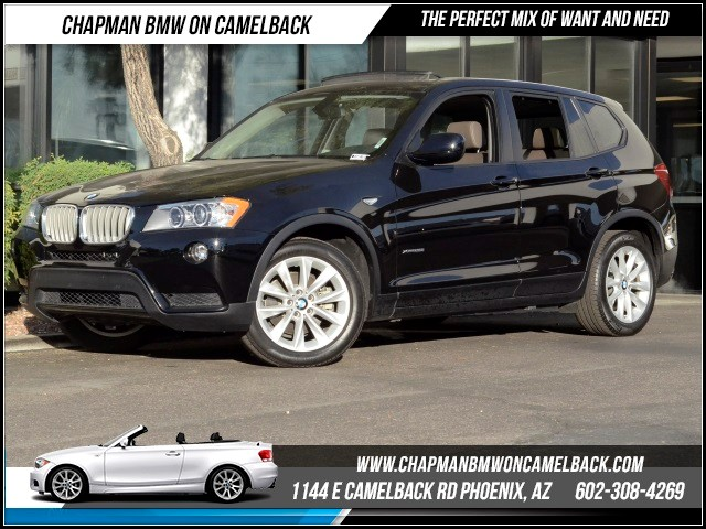 2013 BMW X3 xDrive28i 25647 miles Convenience Package Premium Package Cold Weather Package Wir